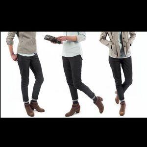 Betabrand skinny SELVEDGE jeans